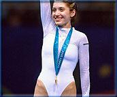 蹦床女皇卡拉瓦耶娃主动让金牌