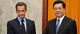 胡锦涛会见法国总统萨科齐