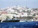 俄海参崴附近海域
