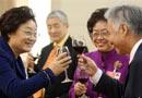 李海峰宴请出席两会的港澳代表委员