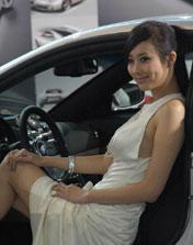2009 上海车展 车模 翟凌(兽兽)