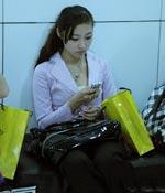 聊短信 最爱女主播 2009上海车展