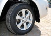 一汽丰田RAV4轮胎与轮毂