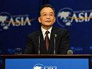 温家宝再为中国经济打气:希望像明灯永不熄灭