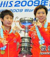 女双决赛,郭跃,李晓霞,世乒赛,横滨世乒赛