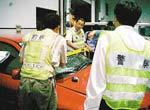 杭州飙车案,鉴定肇事车辆