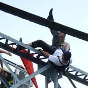 老人推下跳桥者被拘捕