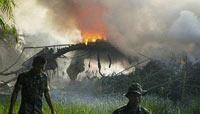 印尼军机坠毁