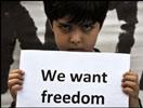 伊朗示威者要求自由