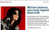 迈克尔杰克逊去世 CNN