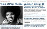 迈克尔杰克逊去世 华盛顿邮报
