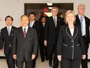 中美战略与经济对话 戴秉国与希拉里·克林顿步入会场