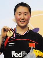 卢兰,羽毛球世锦赛,印度羽毛球世锦赛
